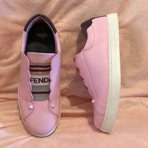 Fendi Rockoclick Slip-On Sneaker